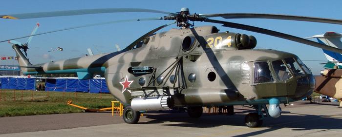 Транспортно боевой вертолёт ми 8