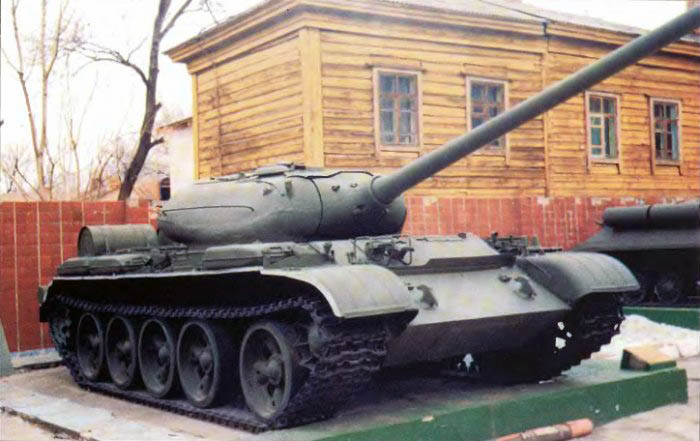 Вариант танка т 54а прошедший