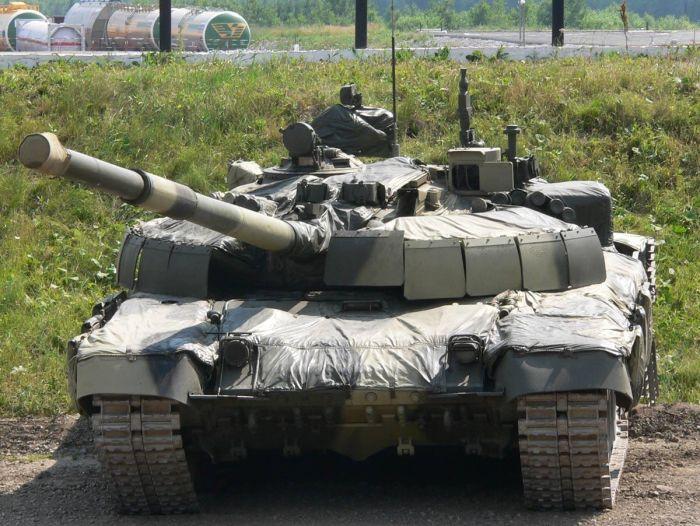 "Т-72Б2(об.184М – он же Т-72БМ, Т-72Б2 по разным документам) ""Рогатка"""