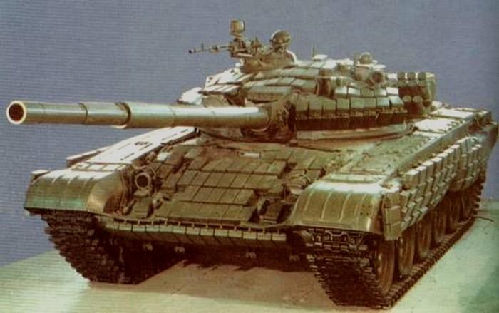 T-72АВ (об.176В). Кубинка